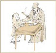 蒙卦第六爻,爻辞:上九:击蒙,不利为宼,利